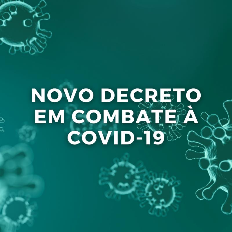 DECRETO Nº45 IMPÕE NOVAS MEDIDAS EM COMBATE À PANDEMIA