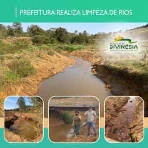 PREFEITURA REALIZA LIMPEZA DE RIOS